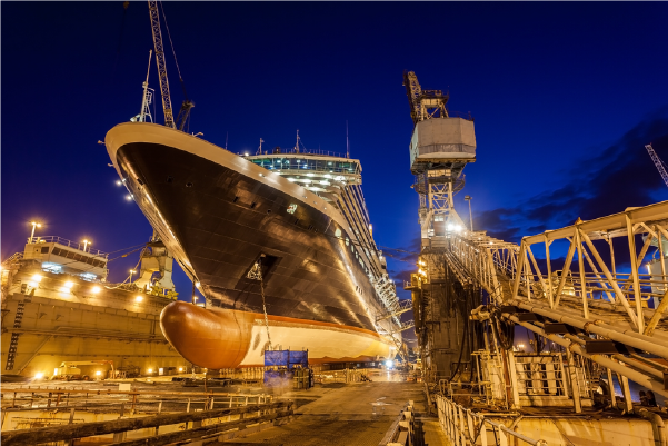 An Insight into the Process of Dry Docking of Ships